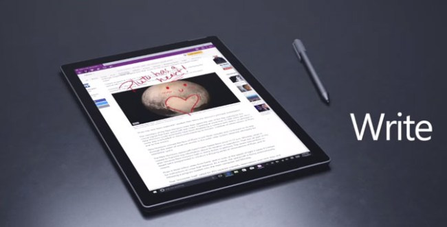 Microsoft анонсировала планшет Surface Pro 4 с процессором Skylake