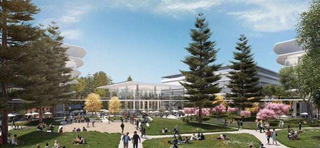 Apple построит ещё один кампус оригинальной формы