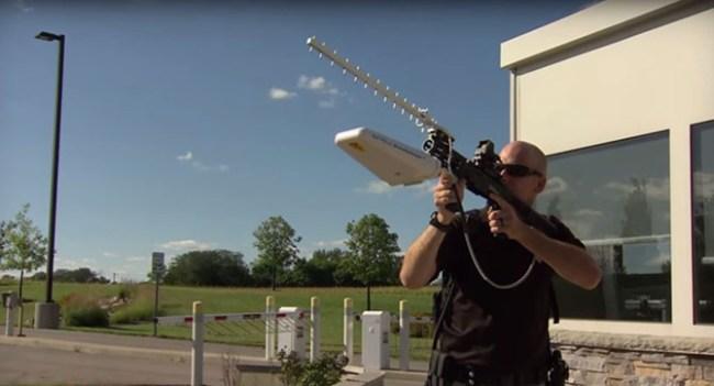 Разработано ружьё для борьбы с дронами