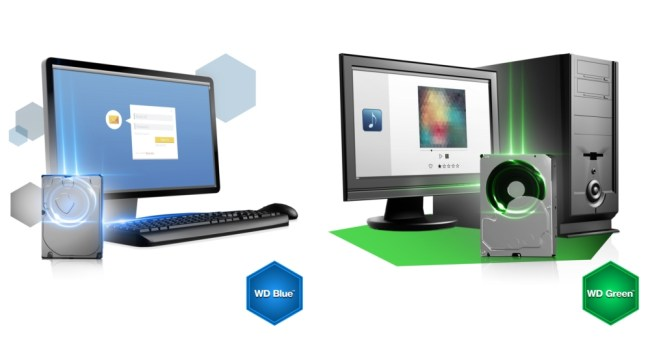 WD Green + WD Blue