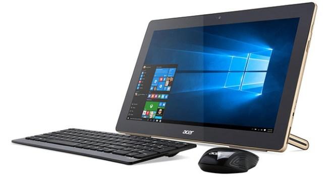 Acer анонсировала моноблок с аккумулятором и планшетный ноутбук