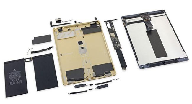 Эксперты iFixit вынесли вердикт относительно ремонтопригодности планшета Apple iPad Pro