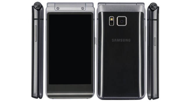 Samsung подготовила модификацию флагмана Galaxy S6 в форм-факторе телефона-раскладушки