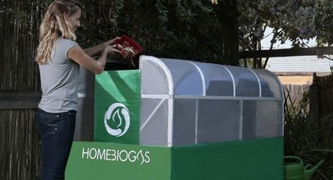 HomeBioGas - домашняя установки для переработки пищевых отходов в биогаз