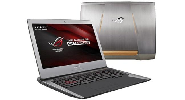 ASUS представила новый ноутбук для геймеров ROG G752