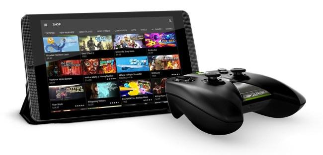 NVIDIA анонсировала игровой планшет Shield Tablet K1 по цене $199,99