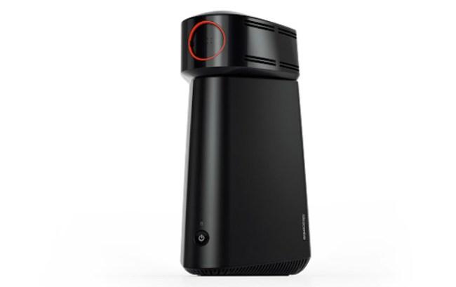 Lenovo показала компактный ПК ideacentre 610S со съёмным проектором