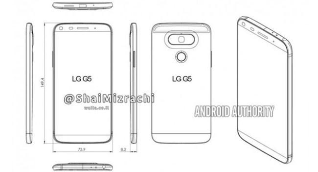 Смартфон LG G5 получит новый дизайн