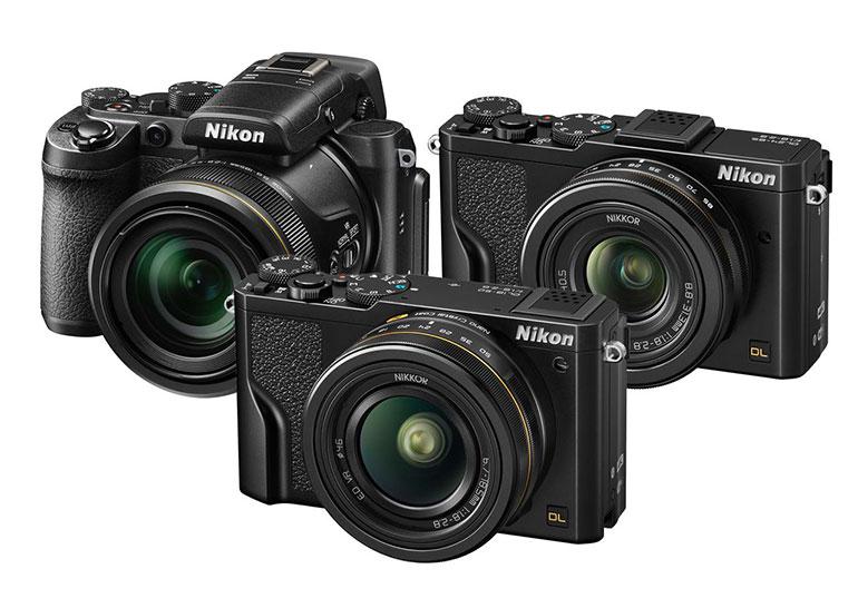 Nikon анонсировала линейку камер DL Series с 1-дюймовыми сенсорами и поддержкой записи видео 4K