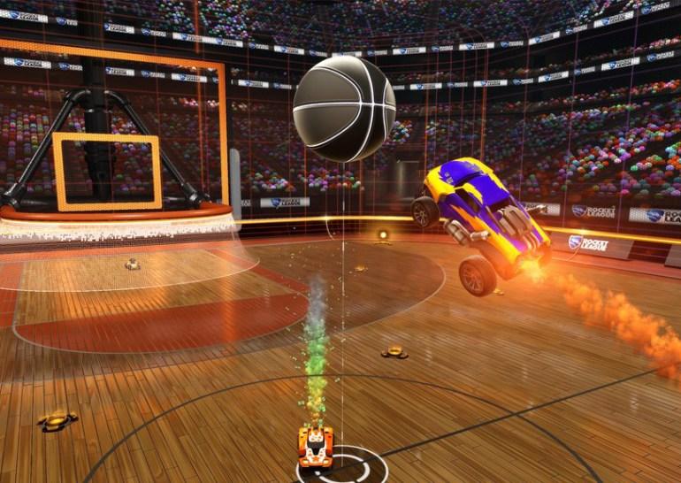 В Rocket League появится режим с баскетболом