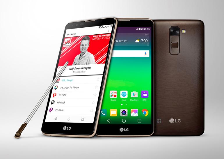 LG выпустила смартфон Stylus 2 с поддержкой стандарта цифрового радиовещания DAB+