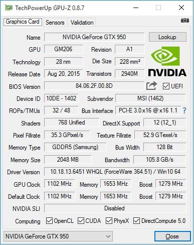 MSI_GTX950_Gaming_2G_GPU-Z_info