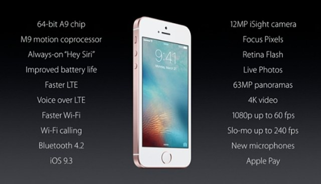 iPhone SE Specifications