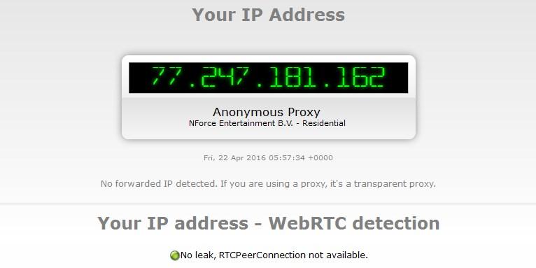 VPN в Opera не скрывает реальный IP адрес из-за ошибки в