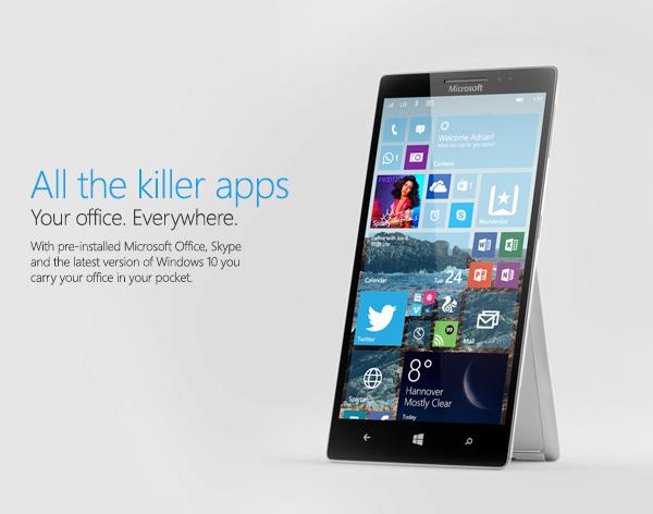 В 2017 году Microsoft выпустит три модели Surface Phone
