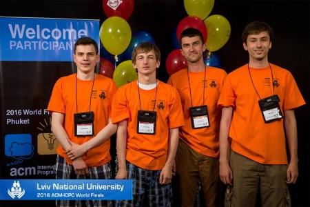 Команда украинских студентов смогла взять «бронзу» на всемирной олимпиаде по программированию AMC-ICPC