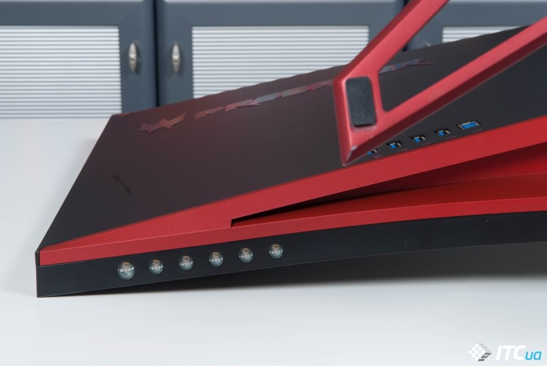 Acer Predator Z35 buttons