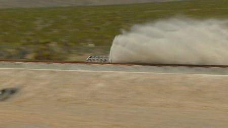 Hyperloop One успешно испытала силовую установку вакуумного поезда Hyperloop