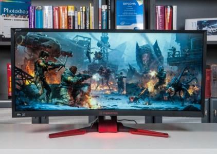 Обзор игрового монитора Acer Predator Z35: диагонали много не бывает