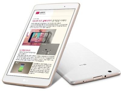 Новый 8-дюймовый планшет LG G Pad III 8.0 поступил в продажу по цене около $185