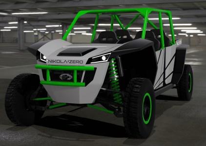 Названная в честь физика Николы Теслы американская компания Nikola Motor Company разрабатывает электрический багги Nikola Zero и гибридный грузовик Nikola One