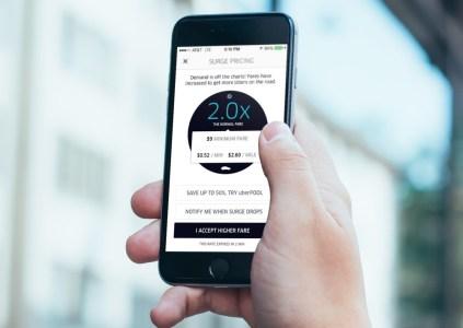 Клиенты Uber готовы платить за поездку по десятикратному тарифу, если их смартфон почти разряжен