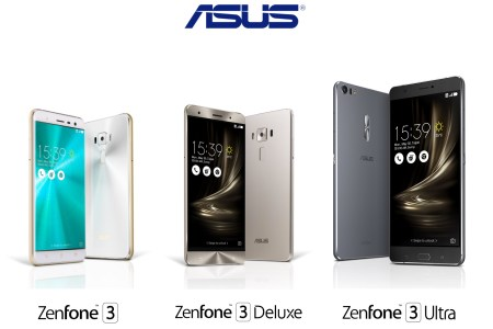 Представлены смартфоны ASUS Zenfone 3, Zenfone 3 Deluxe и Zenfone 3 Ultra