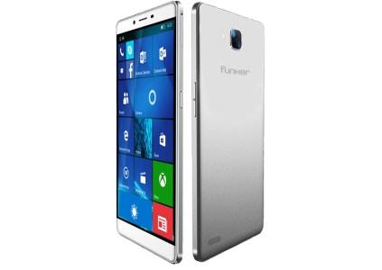 Funker анонсировала смартфон W6.0 Pro 2 на базе Windows 10 с поддержкой функции Continuum