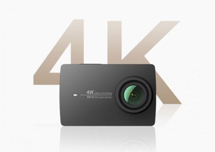 Xiaomi анонсировала экшен-камеру YI 4K Action Camera с возможностью записи видео в разрешении 4K