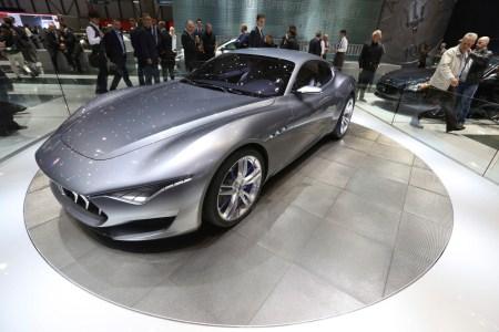 Maserati выпустит полностью электрическое спорт-купе, которое составит конкуренцию моделям Tesla Motors