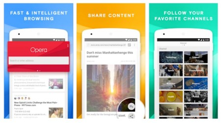 Opera выпустила приложение News and Search для Android