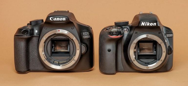 Canon 1300D, Nikon D3300