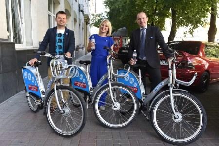 В Киеве начал работать муниципальный прокат велосипедов Nextbike