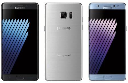 Опубликовано официальное изображение смартфона Samsung Galaxy Note7, позволяющее узнать варианты его расцветки