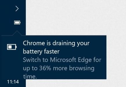 Windows 10 начинает показывать, какие приложения быстро разряжают батарею