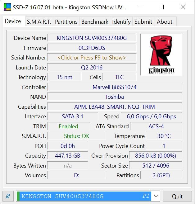 Kingston_SSDNow_UV400_SSD-Z_info