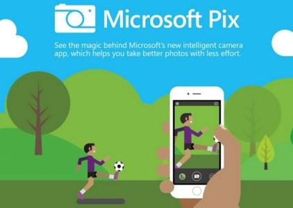 Приложение Microsoft Pix для iOS призвано улучшить качество получаемых снимков с помощью искусственного интеллекта