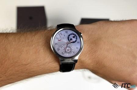 Экспресс-обзор умных часов Huawei Watch на Android Wear