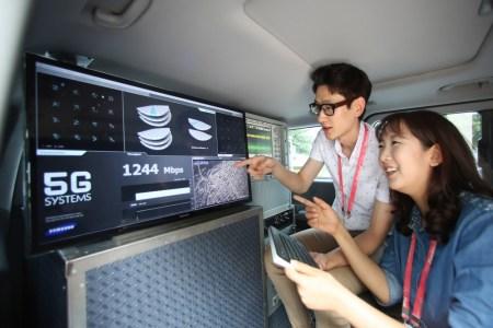 Samsung Electronics анонсировала разработку компактных энергоэффективных устройств и оборудования для 5G-сетей