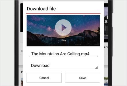 В Opera Mini появилось скачивание видео для экономии трафика