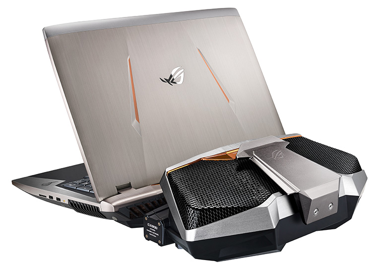 ASUS выпустила новые игровые ноутбуки Republic of Gamers с видеокартами NVIDIA серии GeForce GTX 10