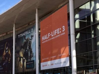 На Gamescom обнаружили постер Half-Life: 3, но…