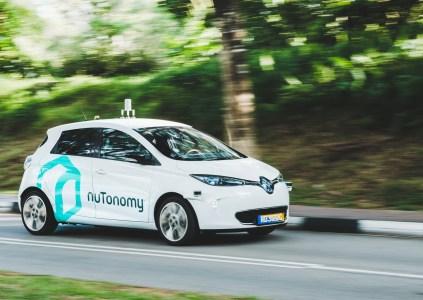 Компания nuTonomy запустила в Сингапуре первое в мире беспилотное такси на основе электромобилей Renault Zoe и Mitsubishi i-MiEV