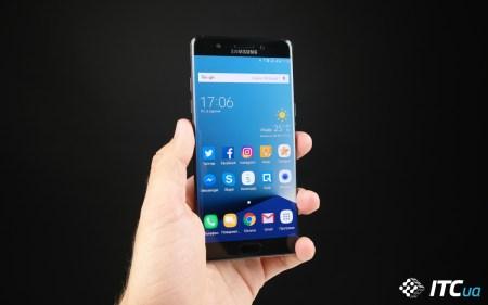 Первый взгляд на Samsung Galaxy Note7