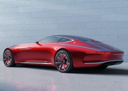 Представлен концепт пафосного шестиметрового электромобиля Vision Mercedes-Maybach 6 с дверьми типа «крыло чайки», автопилотом и запасом хода 500 км