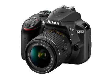 Представлена зеркальная камера Nikon D3400 с постоянно включенным Bluetooth (технология Snapbridge)