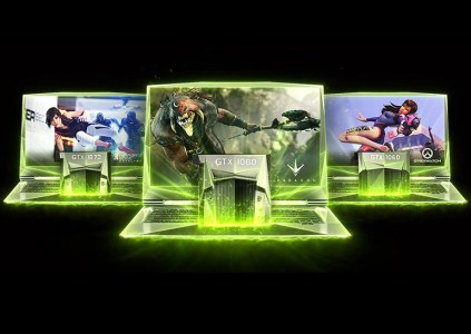 NVIDIA выпустила мобильные версии видеокарт серии GeForce GTX 10
