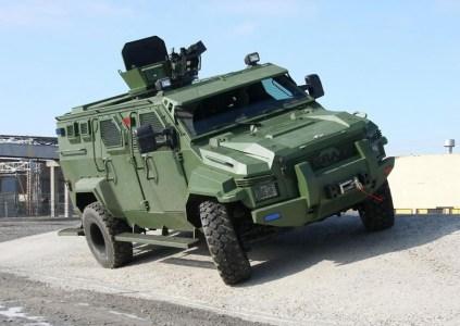 Специалисты из Запорожья делают самоуправляемый автомобиль на базе бронеавтомобиля КрАЗ «Спартан»