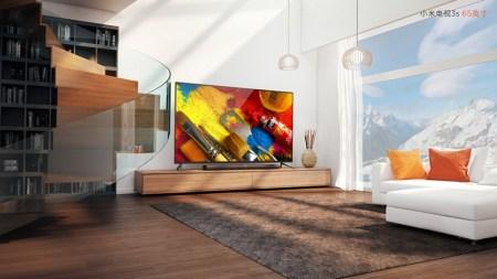 Xiaomi представила сразу три модели умного телевизора Mi TV 3S. Старшая модель с 65-дюймовой панелью 4K оценена в $900