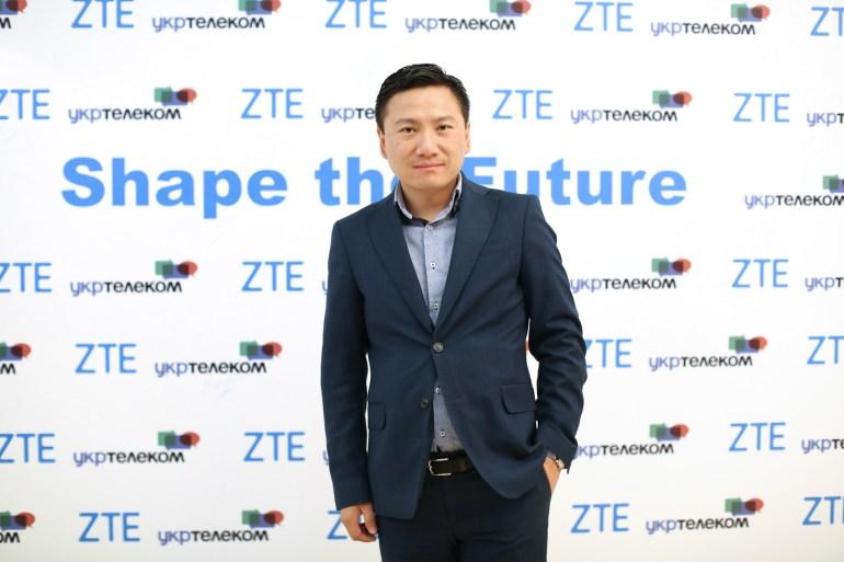 Хуан Минси, директор ZTE Украина